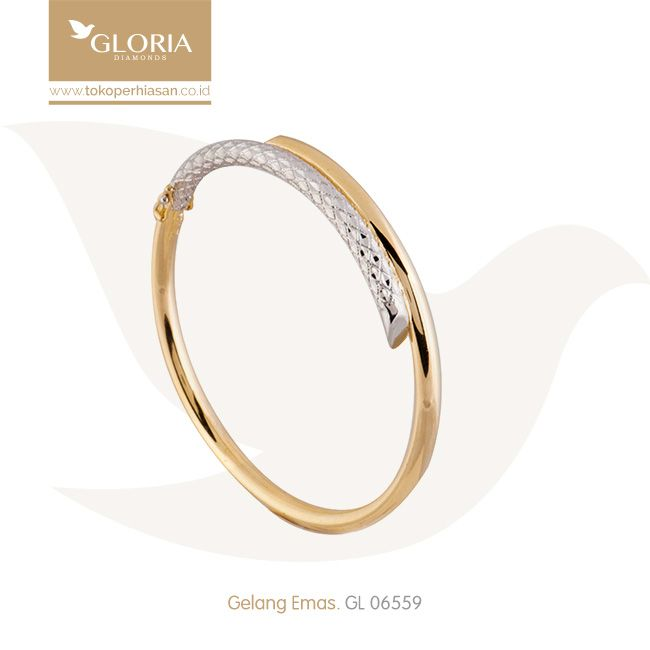 Gelang Tangan Model Silang Putih Kuning Cukitan Slep Kilap. #goldbracelet #goldstuff #gold #goldjewelry #jewelry #bracelet #perhiasanemas #gelangemas #tokoperhiasan #tokoemas