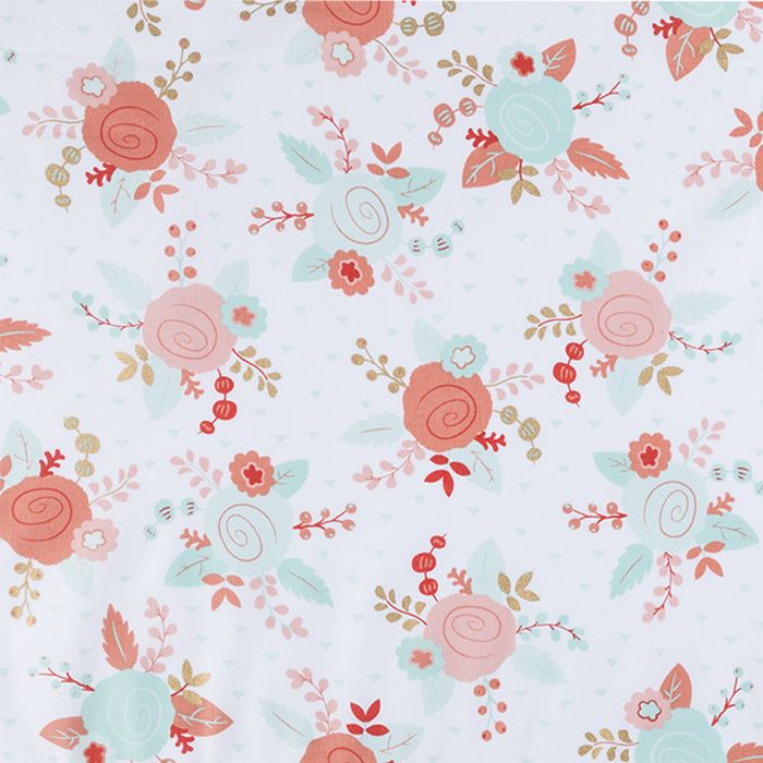 Piper Floral Apparel Fabric