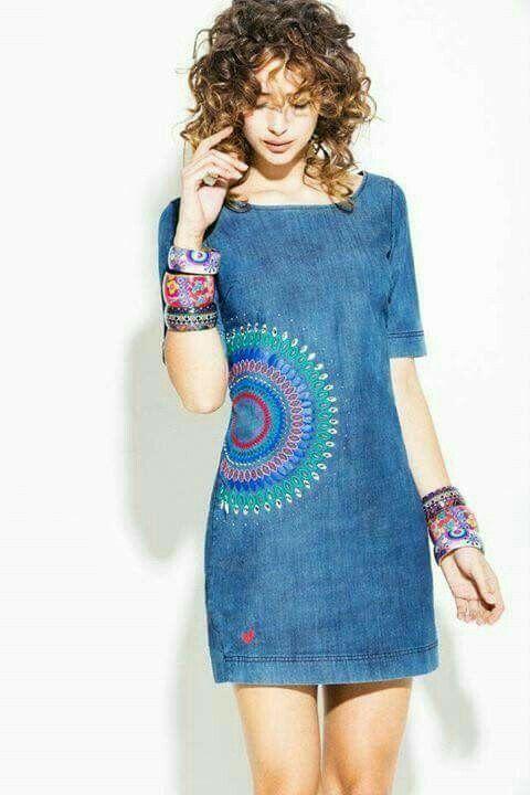 Dress Denim - New York Street Fashion, NYC Casual Style, Latest Fashion  Trends - New York Fashion New Trends
