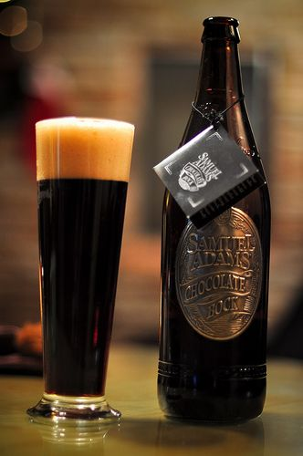 I've tried the Infinium. Now this (Sam Adams Chocolate Bock) is up next.
