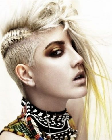 Punk Mohawk Hair Style 2014