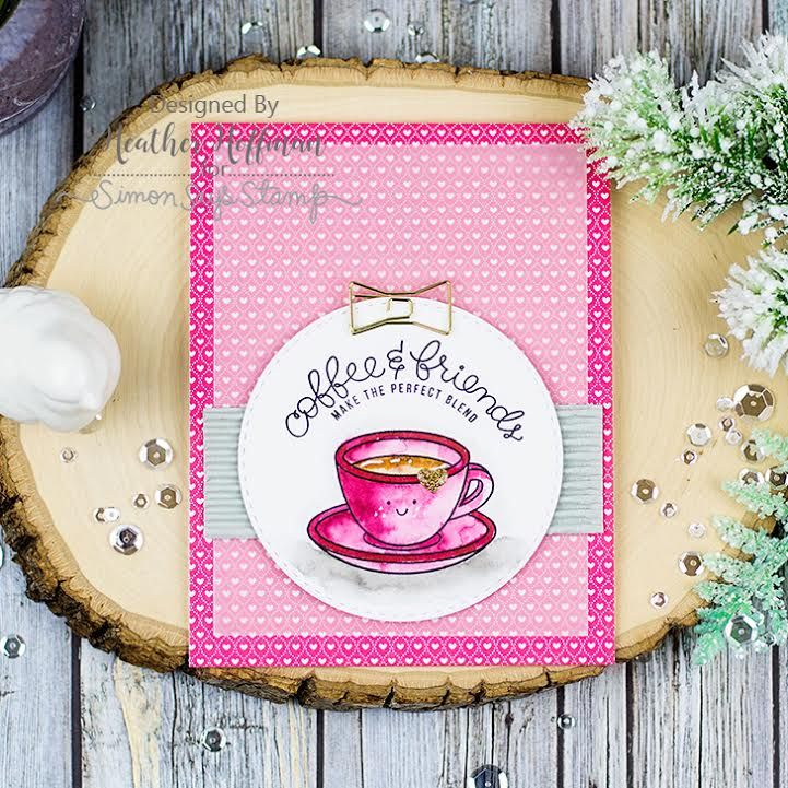 Simon Says Stamp Card Kit of The Month FEBRUARY 2017 COFFEE TEA AND COCOA CK0217 Preview Image