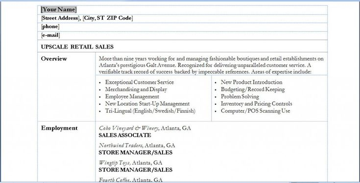 Sales Associate Resume Example - http\/\/wwwresumecareerinfo - resume examples for sales associates