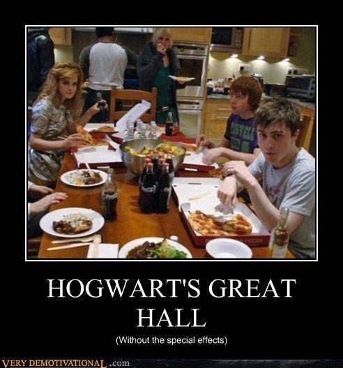 Looks like Hogwarts: The College Years.