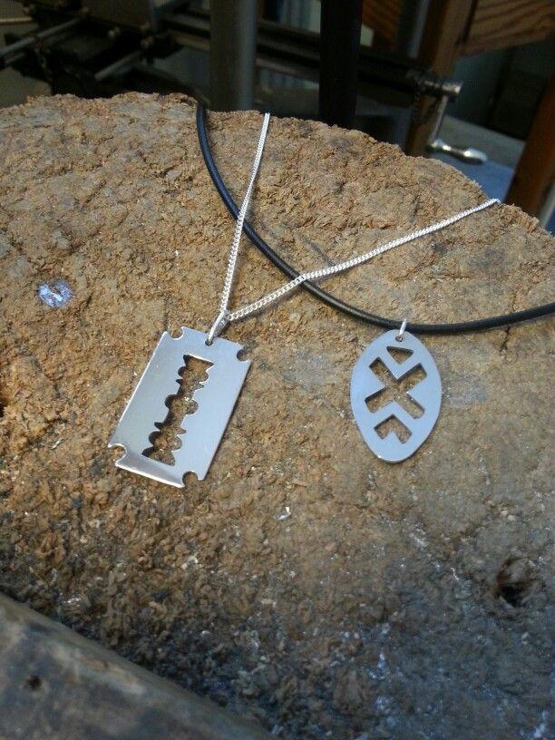 Silver smycken, halsband