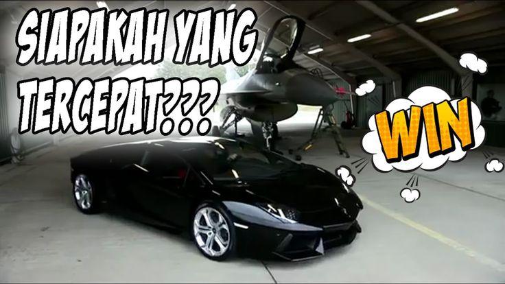Wow!!! Drag 😀 Lamborghini VS Jet Tempur