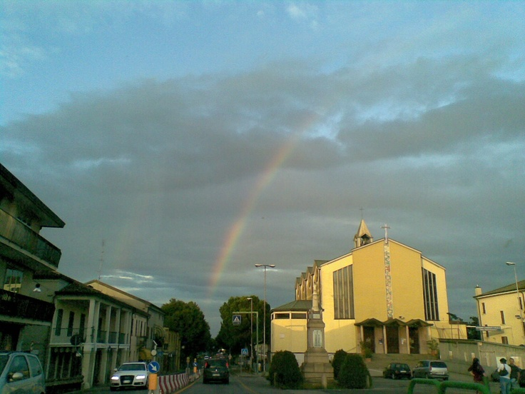 somewhere over the rainbow ( l'arcobaleno dopo il temporale estivo)