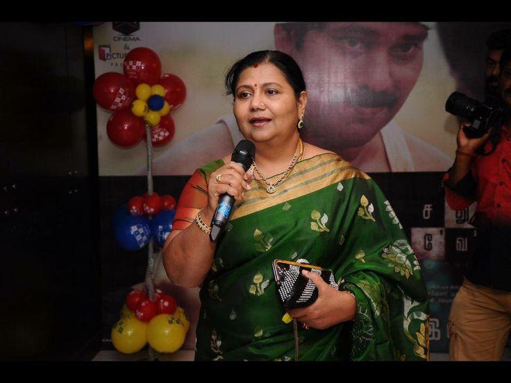 South Indian Actress Kutti Padmini speaks about Sathuranga Vettai @ The Audio Launch event.