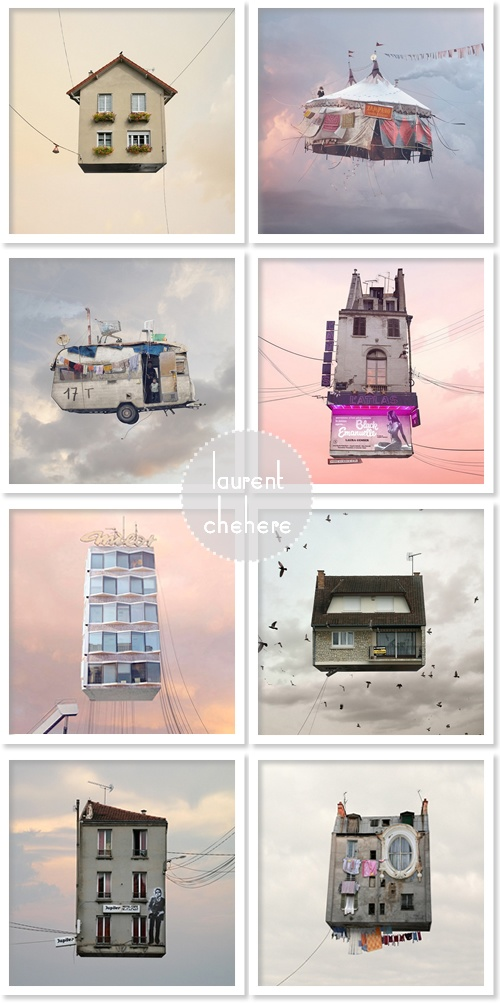 """""""Flying Houses"""" by Laurent Chehere"""