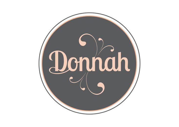 Logo design for Donnah Clothing by Designz by Jamz #logo #design #graphicdesign #branding #creative