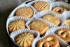 Galletas de mantequilla danesas. ¡Deliciosas! Receta ideal para prensa de galletas, mejor que las comerciales.