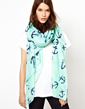 Enlarge Pieces Gunbritt Anchor Scarf Obsessed!! Buying now