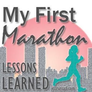 Things to do and NOT to do during your first marathon.  Great tips!! JessrunsATL.com