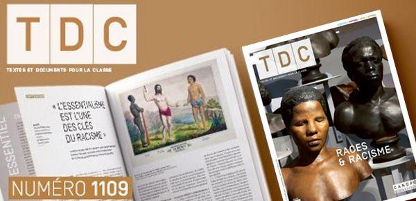 """#VendrediLecture+#RevueTDC+""""Races+et+racisme""""+des+articles+en+sciences,+histoire,+lettres+&+arts+@reseau_canope"""