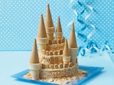 Another Disney wedsite-check out that beautiful rice crispy cake-
