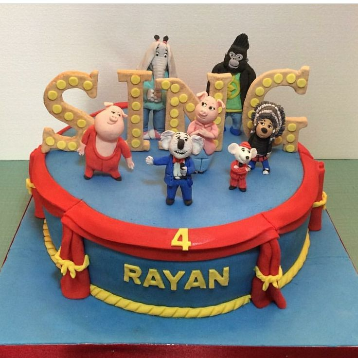 16 Best Images About Sing Cake On Pinterest Movie Cakes