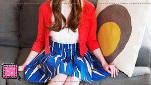 Εύκολη φούστα με λάστιχο για αρχάριους από την ομάδα του Etsy blog!