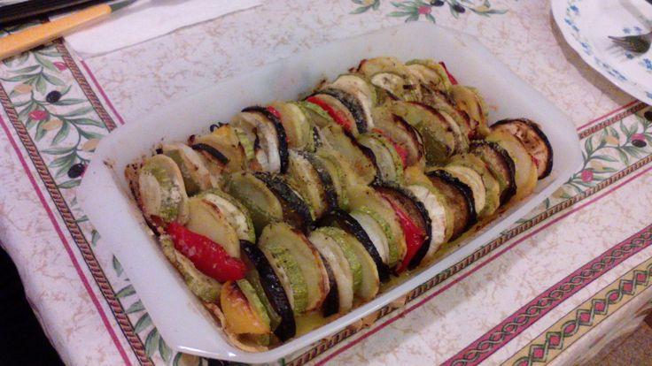 Teglia di verdure al forno