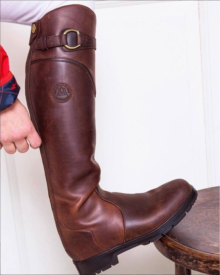 Boot envy? Can't say we blame you. Mountain Horse USA Spring River Boots are a favorite of equestrians around the country. Visit http://mountainhorseusa.com/  for details and to locate a retailer near you #ItsAMountainHorseKindOfDay #FamilyOfBrands