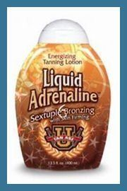 Liquid Adrenaline - Tan Asz U Tan Incorporated by Tan Incorporated. $19.00. Skin Firming | Sextuple Bronzing Energizing Tanning Lotion. Awaken the senses and let your dark side show with this ultra dark sextuple bronzing lotion. The finest in skin care with a Maximum Level of Skin Firming, Antioxidants, and Exotic Moisturizers to soothe and tone.. Save 58%!