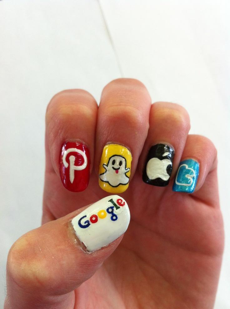 Social Media Nails Nails