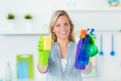 Die 4 geheimen Sprühflaschen - Nie mehr Reinigungsmittel kaufen!