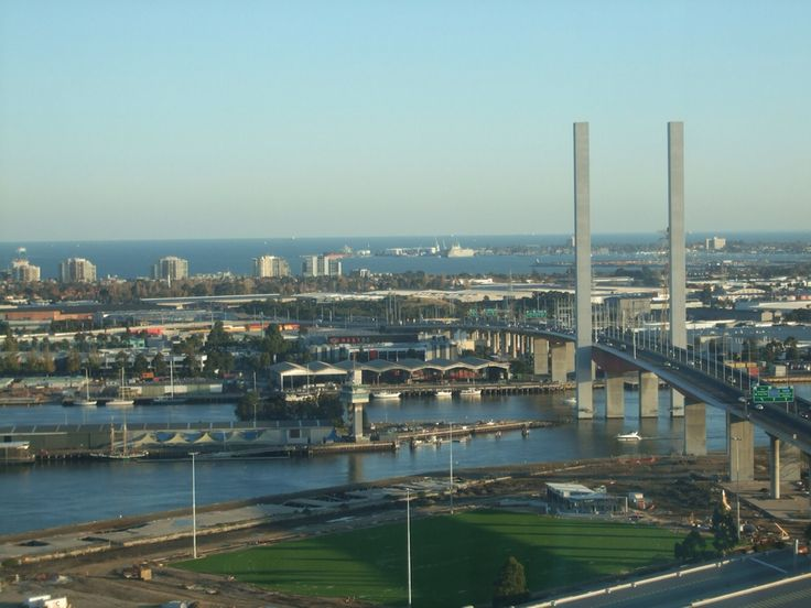 Bolte bridge, Melbourne