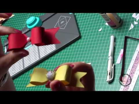 Lazos varios con Envelope punch board - YouTube