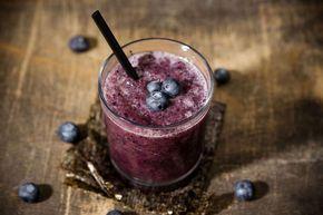 Blaubeer-Zucchini-Smoothie #smoothie #blueberry #blaubeere #zucchini #fitfood #healthy #superfood