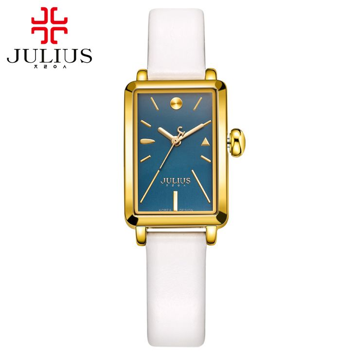 Preety Girls simple fashion casual quartz analog watch Female leather band high quality gift watches Famous Julius 941 hour time