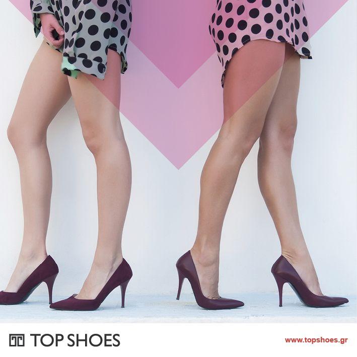 Αναδείξτε τα πόδια σας και τη σιλουέτα σας! Eκτινάξτε την αυτοπεποίθησή σας με τις εντυπωσιακές και απόλυτα θηλυκές γόβες τις φθινοπωρινής collection Topshoes!  Δείτε όλη τη συλλογή εδώ: https://www.topshoes.gr/γυναικείες-γόβες