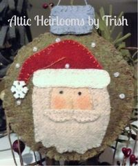 ♥ October 2015 Ornament Of the Month ~ PDF Pattern by Trish Harriman of Attic Heirlooms in Damariscotta, Maine. ♥