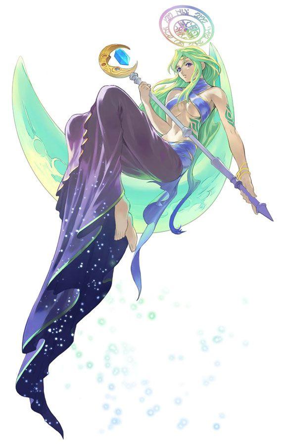 Luna Summon Spirit - Tales of Symphonia
