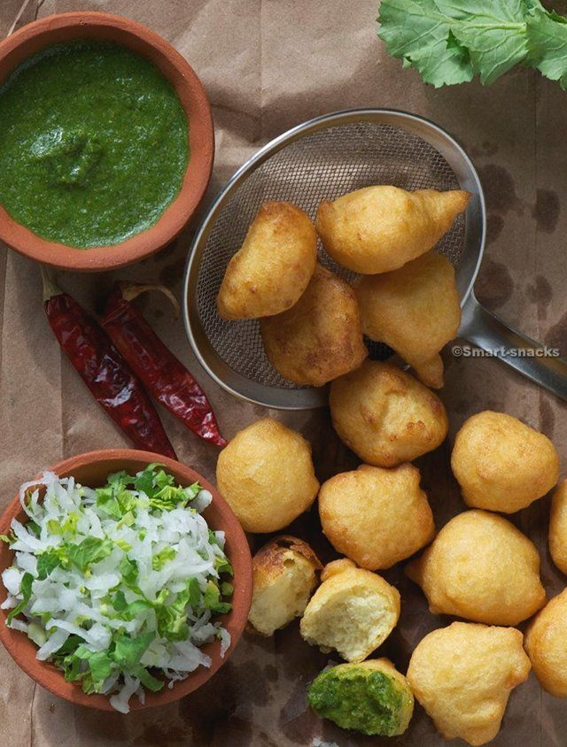 Lentil (Daal) Fritters with Green Chutney  We love yellow lentils.  yum