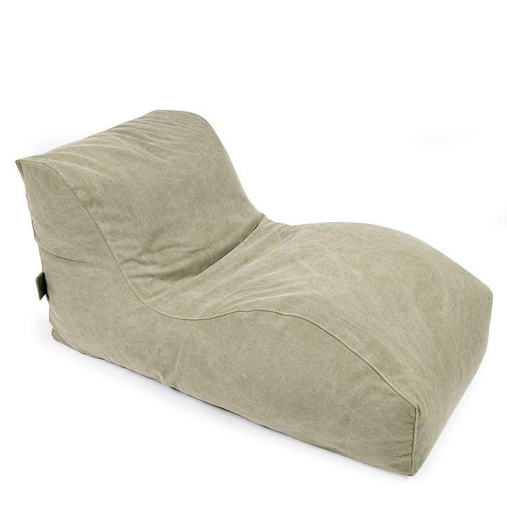 Sitzmöbel als Sitzsack-Liege