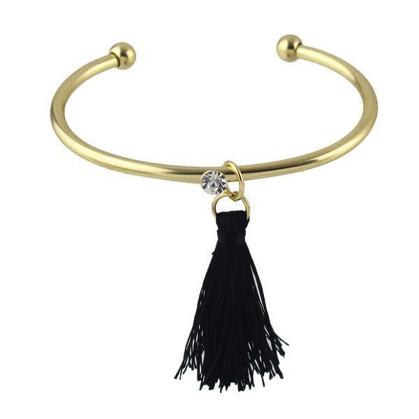 Bracelet jonc tendance 2017 . Un bracelet créateur tendance qui sublimera toutes vos tenues avec charme. Bracelet réglable convient à tous les poignets.