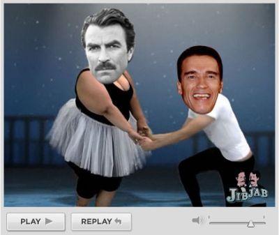 Montagem de pessoas dançando, como fazer