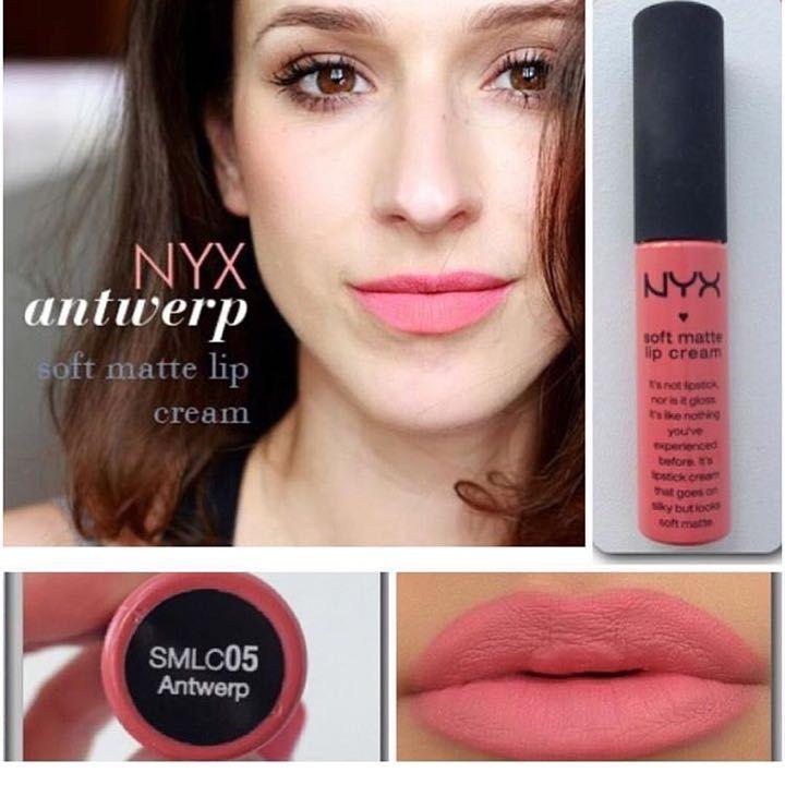 NYX soft matte lip cream Antwerp 【口紅・グロス 】 - ラクマ|中古/未使用品のフリマアプリ