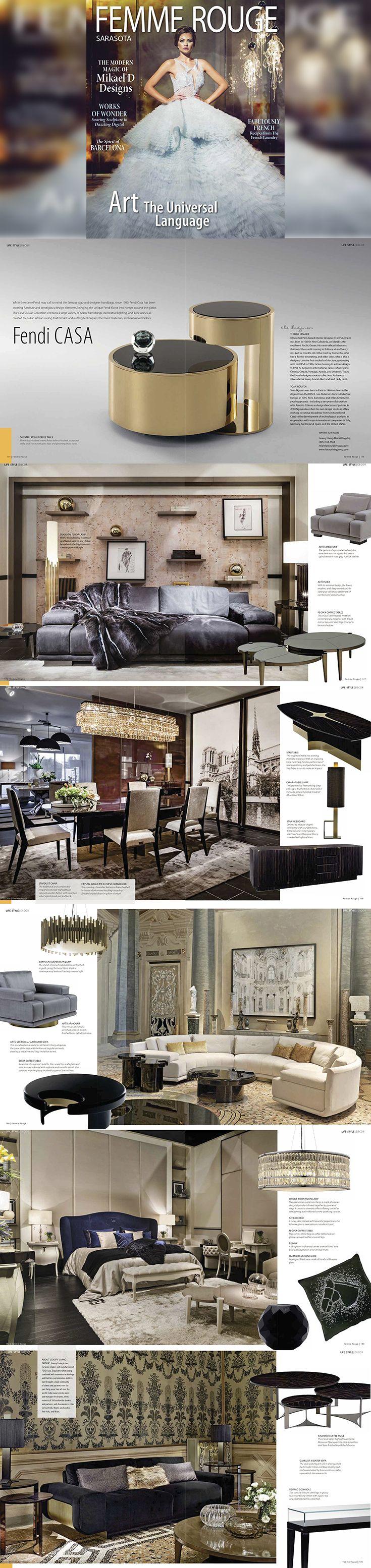 The 137 best FENDI CASA 芬迪 images on Pinterest   Furniture, Luxury ...