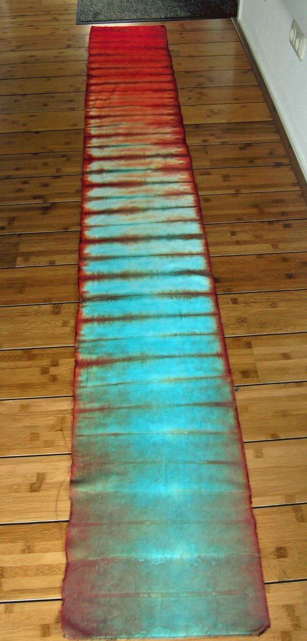 ...And Then We Set It On Fire: Tray dyeing with Ann Johnston                                                                                                                                                                                 More