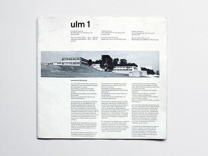Ulm Journal, 1