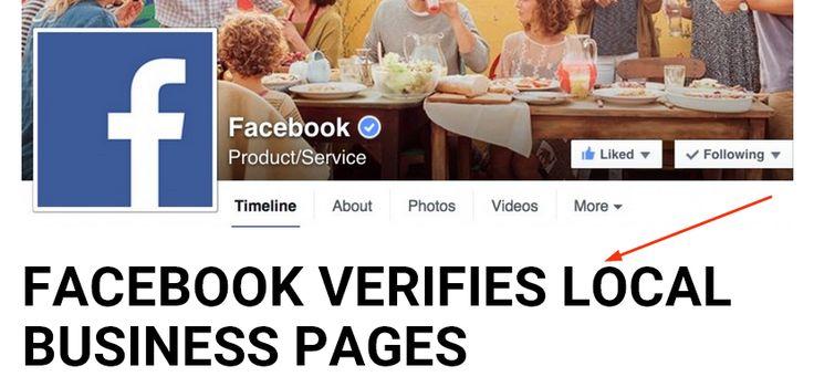 A validált üzleti oldalak #SEO szempontjából is előnyben részesülhetnek, ugyanis előkelőbb helyen szerepelhetnek a keresési eredmények között - mondja a #Facebook