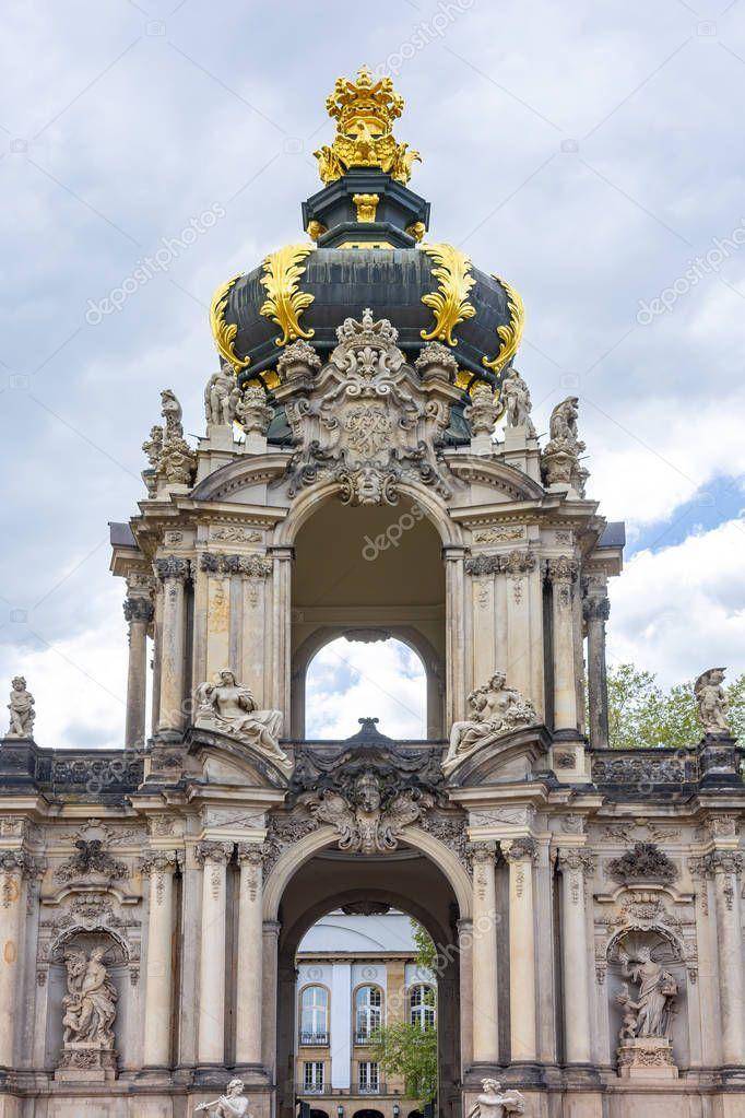 Crown Gate Dresdner Zwinger Dresden Germany Stock Photo Aff Dresdner Zwinger Crown Gate Ad