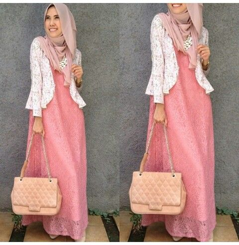 baby pink hijab