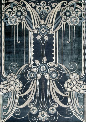 Catherine Martin rugs BLACK PEARL  We love this at LILY Magazine. Get the Gatsby look in your home with our story on Gatsby's Art Director and Costume Designer Catherine Martins collection with Mokum Textiles at  www.lifeandstyleonadime.com