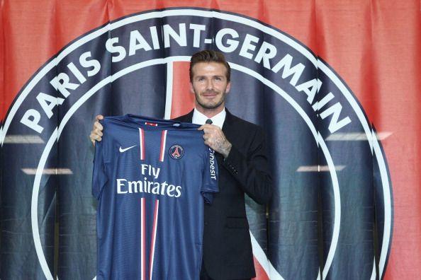 David Beckham - PSG Salary - $9 M.  Sponsor - $37 M
