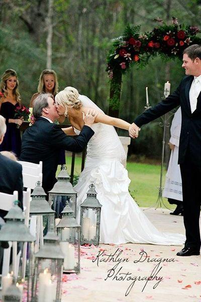 Sentimental Wedding Ideas - Heirloom Wedding Ideas | Wedding Planning, Ideas & Etiquette | Bridal Guide Magazine - goodbye daddy kiss.