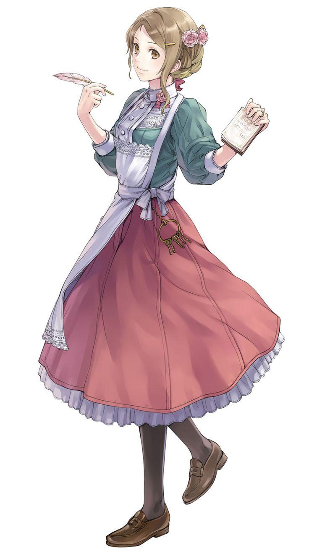 ❤٩(๑•◡-๑)۶❤                                                                                        Atelier Rorona: The Alchemist of Arland.