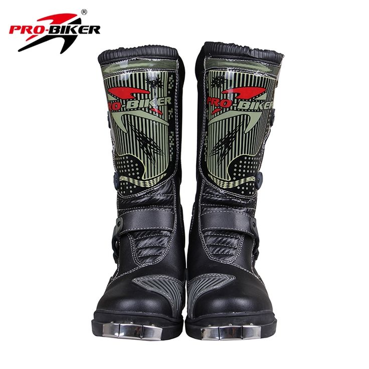 62.99$  Buy now - http://alij37.worldwells.pw/go.php?t=2025192553 - PRO-BIKER SPEED BIKERS Men's Motorcycle Riding Boots Racing Motocross Off-Road Boots Motorbike Breathable Mid-Calf Boots Shoes 62.99$