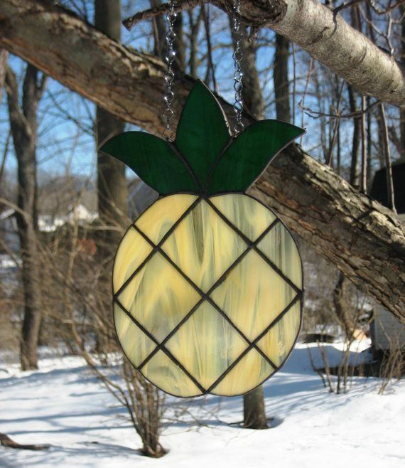 Pretty Welcome to Our Home Pineapple by EyecatchersbyDarlene